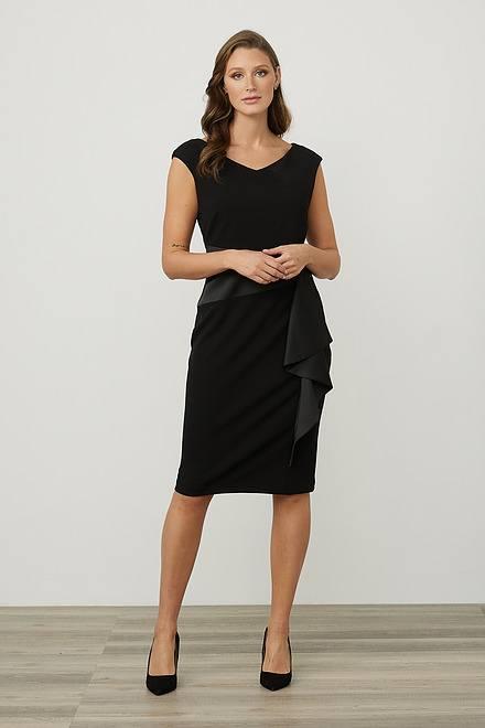Joseph Ribkoff Draped Front Dress Style 213722