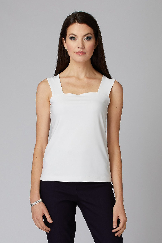 Joseph Ribkoff Tee-shirts et camisoles Vanille 30 Style 143132