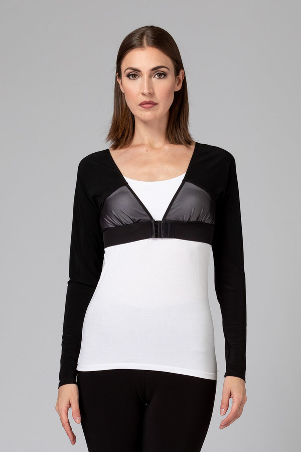 Joseph Ribkoff Tee-shirts et camisoles Noir Style 143431
