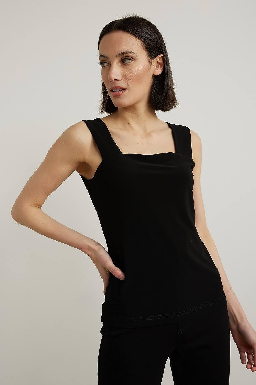 Joseph Ribkoff Black Tees & Camis Style 143132