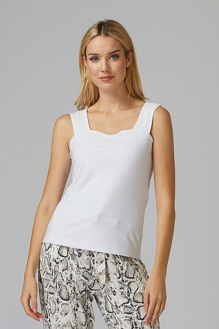 Joseph Ribkoff Tee-shirts et camisoles Blanc Style 143132