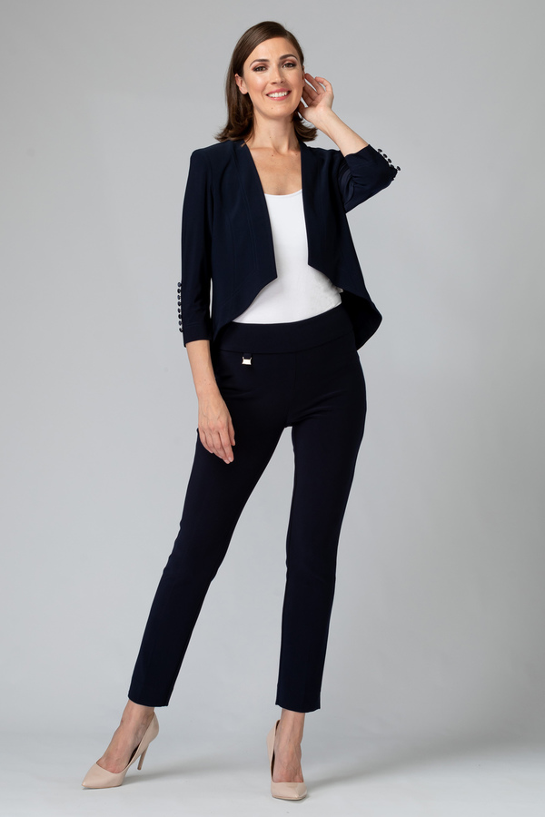 Joseph Ribkoff Pantalons Bleu Nuit Style 144092
