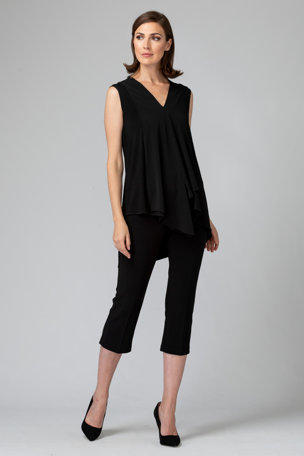 Joseph Ribkoff Black Tunics Style 161060