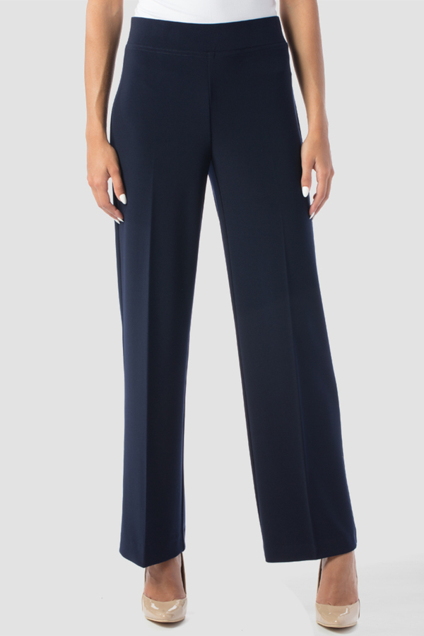 Joseph Ribkoff Pantalons Bleu Minuit 40 Style 153088