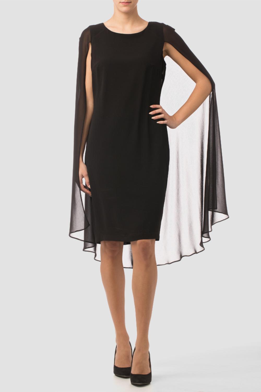 Joseph Ribkoff Black Dresses Style 163230