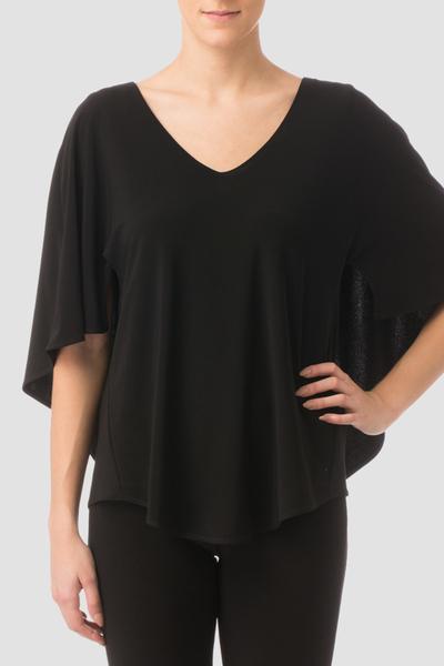 Joseph Ribkoff Black Shirts & Blouses Style 164108